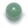 Semi-Precious 6mm Round Aventurine Dark Green